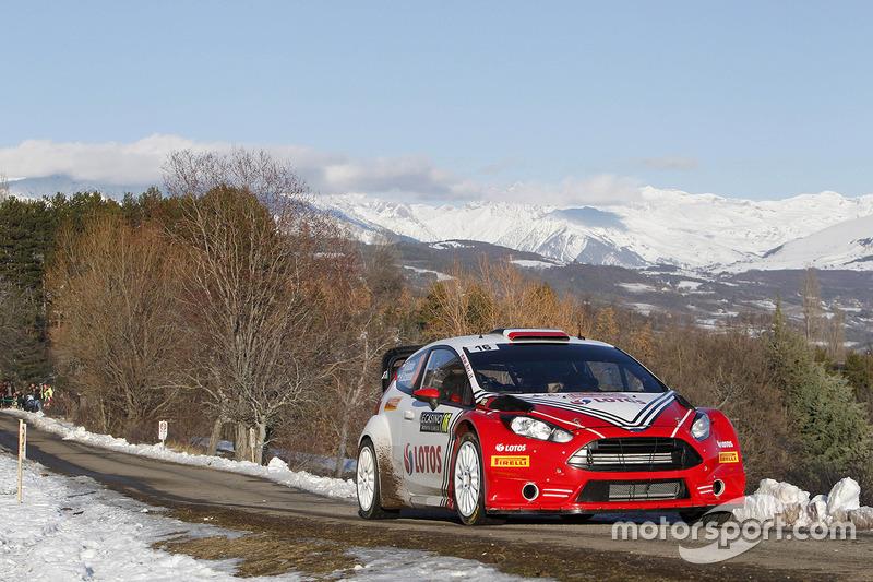 Роберт Кубіца, Мачік Щепаняк, Ford Fiesta WRC