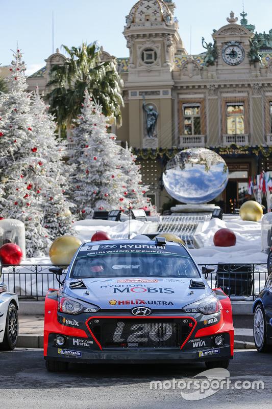 Hyundai Motorsport op het Casinoplein