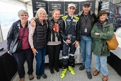 Race 1 race winner Ferdinand Habsburg