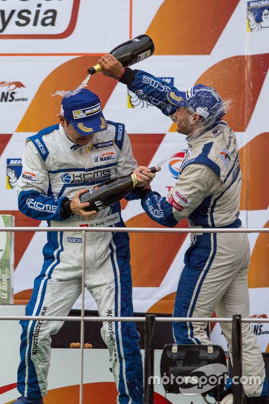 Le podium GTAm