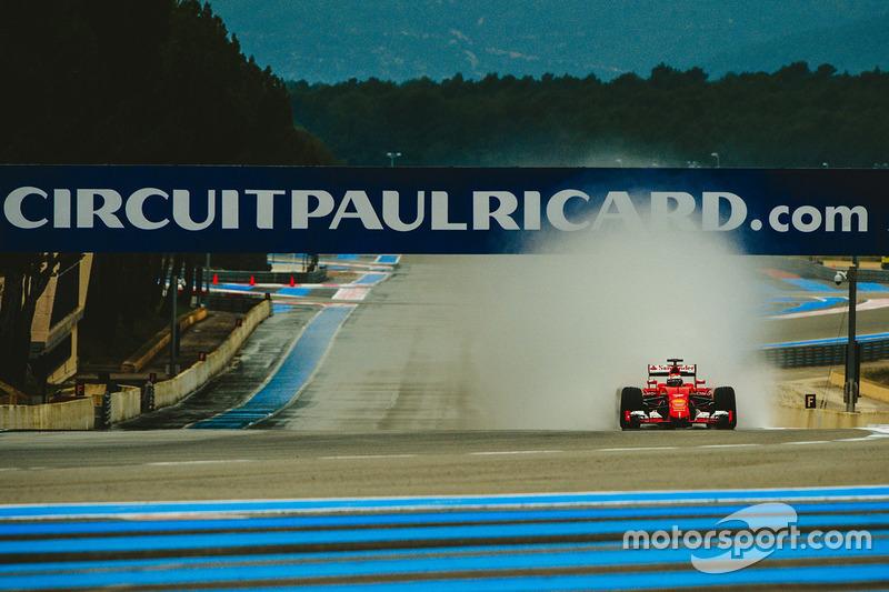 Entre as várias opções de rota do circuito de Paul Ricard, foi selecionado o trajeto de 3.530m