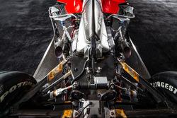 Ferrari Tipo 050 V10-Motor im Heck des Formel-1-Autos Ferrari F2001