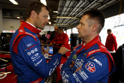 Alexander Wurz and Andy Priaulx