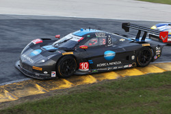#10 Вейн Бойд Racing Corvette DP: Рікі Тейлор, Джордан Тейлор, Макс Анджелеллі, Рубенс Баррікелло