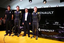 Эстебан Окон, Renault Sport F1 Team и Джолион Палмер, Renault F1 Team
