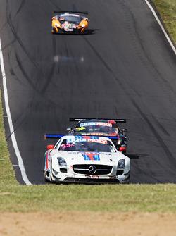 #33 Mishumotors Mercedes SLS AMG GT3: Mirco Schultis, Renger van der Zande, Patrick Simon, Alex Kapadia
