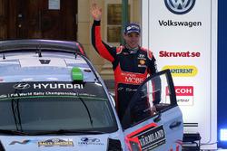 Второе место - Хейден Пэддон, Hyundai Motorsport