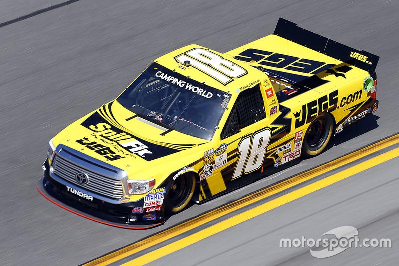 #18 Cody Coughlin (Busch-Toyota)