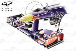 Red Bull RB8: Nase