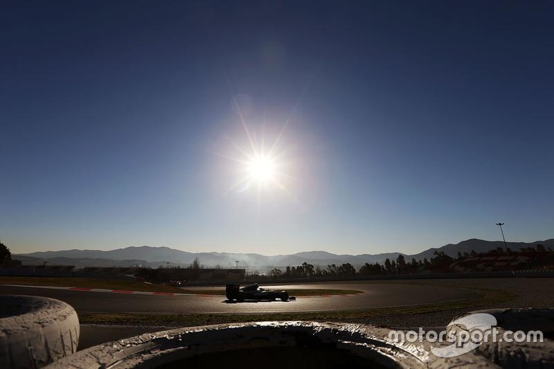 #7: Mercedes F1 W07: Nico Rosberg