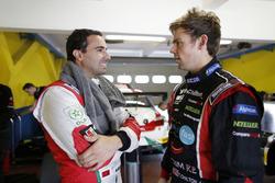 Mehdi Bennani and Tom Chilton, Sébastien Loeb Racing Citroën C-Elysée WTCC