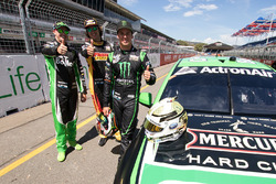 Марк Вінтерботтом, Prodrive Racing Australia Ford, Чаз Мостерт, Rod Nash Racing Ford, Камерон Ватерс, Prodrive Racing Australia Ford