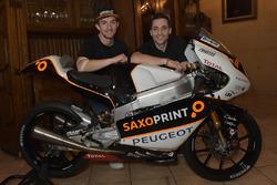John McPhee, Saxoprint RTG und Alexis Masbou, Saxoprint RTG