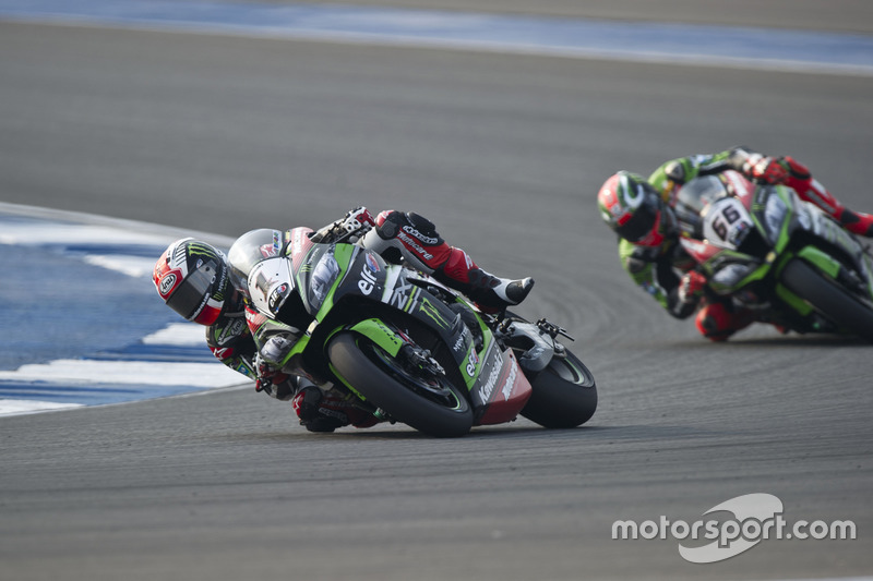 Jonathan Rea, Kawasaki Racing Team y Tom Sykes, Kawasaki Racing Team