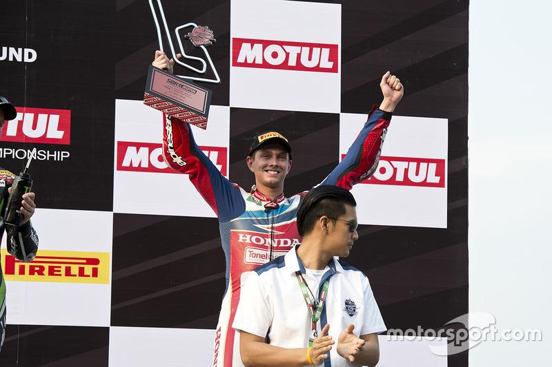 Michael van der Mark: vierde plaats World Superbike