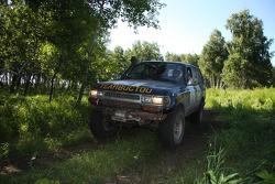 #24 Teambuctou Toyota HZJ 80: Uta Baier and Mario Steinbring