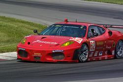 #62 Risi Competizione Ferrari F430 GT: Mika Salo, Jaime Melo