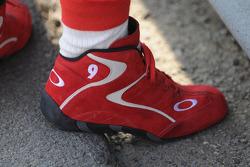 Scott Dixon's shoes