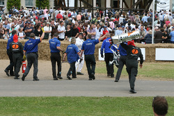 Phase One World Endurance Champions celebrate a successful pit stop