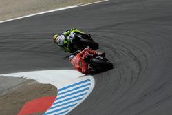 Valentino Rossi y Casey Stoner