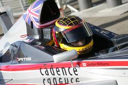 Jordan Williams, DAMS Team