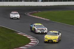 Patrick Carpentier, Jacques Villeneuve and Andrew Ranger