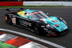 #1 Vitaphone Racing Team Maserati MC 12: Andrea Bertolini, Michael Bartels, Stéphane Sarrazin, Eric Van de Poele