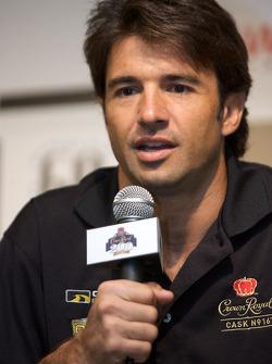 Crown Royal press conference: Christian Fittipaldi