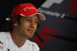 FIA press conference: Jarno Trulli, Toyota Racing