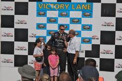 Matt Kobyluck Victory Lane