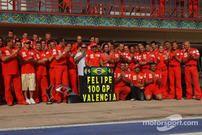 2008. Валенсія. Переможець: Феліпе Масса, Ferrari
