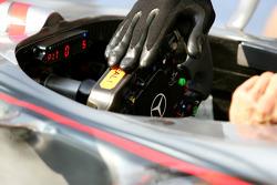 McLaren Mercedes, steering wheel