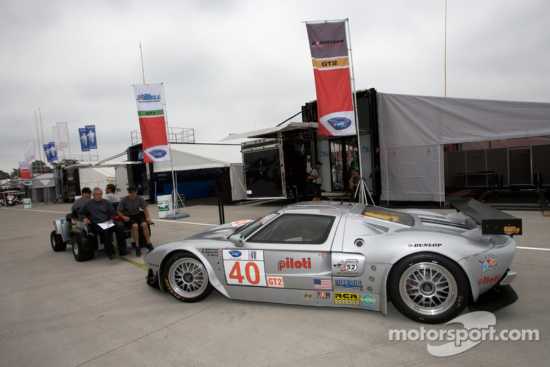 Robertson Racing Doran Ford Gt R Back From Technical Inspection