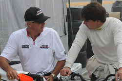 Rick Mears and Oriol Servia