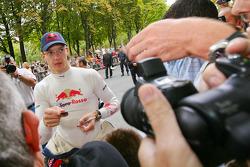 Sébastien Bourdais meets his fans