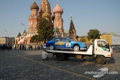 Présentation du WTCC à Moscou