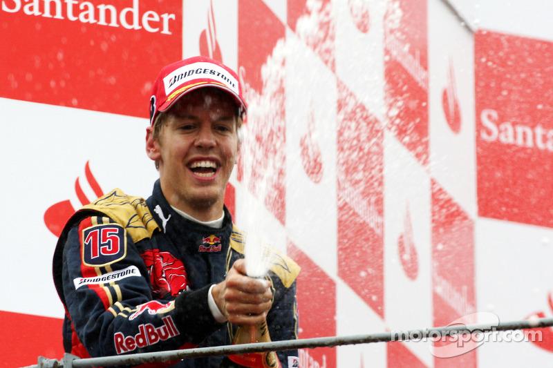 #3: Sebastian Vettel, GP de Italia 2008 (21 años, 73 días)
