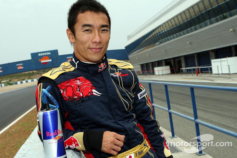 Takuma Sato, Scuderia Toro Rosso (2008)
