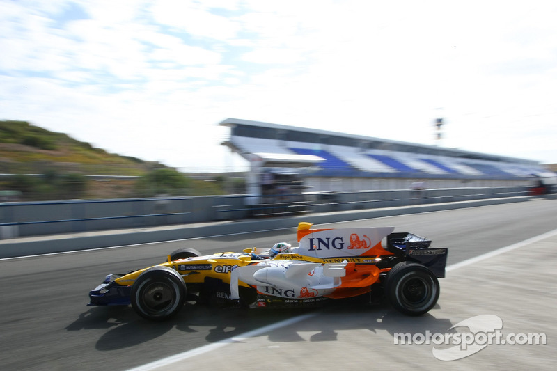 卢卡斯·迪格拉西,测试车手,雷诺R28