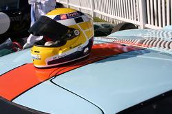 Helmet of Jean-Marc Gounon