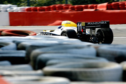 Exit of Eau Rouge: Walter Colacino (I) Scuderia Grifo Corse, IRL G-Force Chevy 3.5 V8