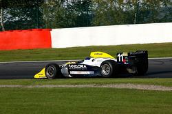 Pace lap: Walter Colacino (I) Scuderia Grifo Corse, IRL G-Force Chevy 3.5 V8