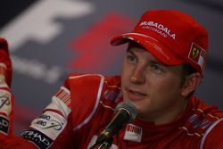 FIA press conference: third place Kimi Raikkonen