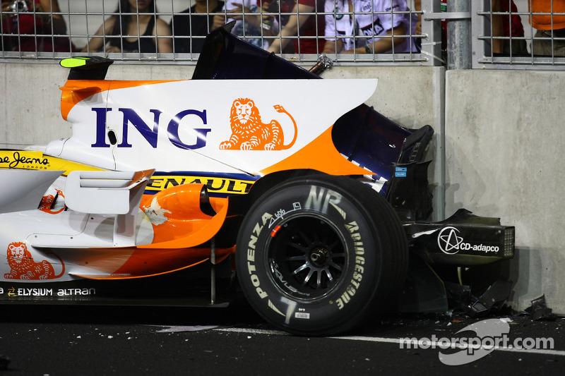 Die Anweisung für den Piquet-Crash kam vom Renault-Kommandostand