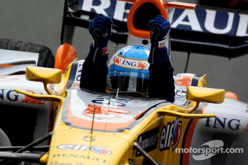 2008 (en Fuji): Fernando Alonso (Renault R28)