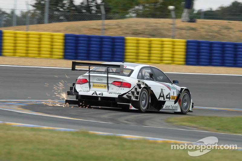 Funkenflug: Tom Kristensen, Audi Sport Team Abt, Audi A4 DTM 2008