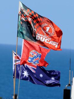 Флаги для Кейси Стоунера