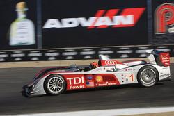 #1 Audi Sport North America Audi R10 TDI: Emanuele Pirro, Christijan Albers