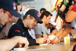 Sébastien Bourdais, Sebastian Vettel and Mark Webber