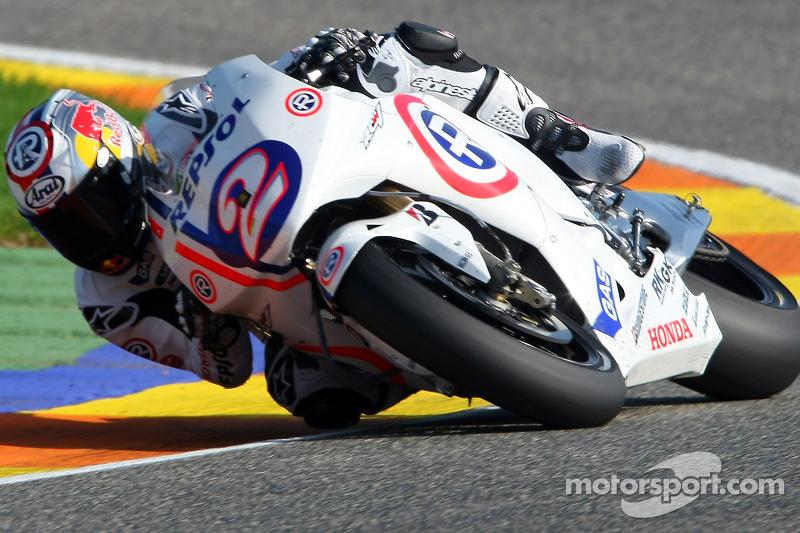Dani Pedrosa (Honda) - MotoGP Valencia 2008